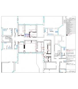 Кухонный блок со складскими помещениями для детских садов