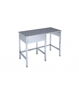 Table with place  for dishwashing machine