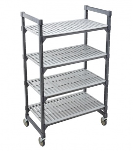 Cambro Elements Series Mobile Starter Units - Vented Shelves