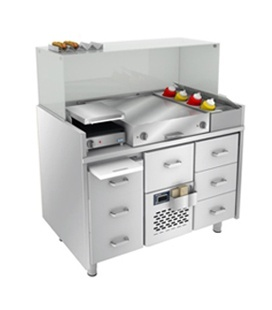 Hot Dog stations