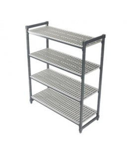 Floor shelving systems