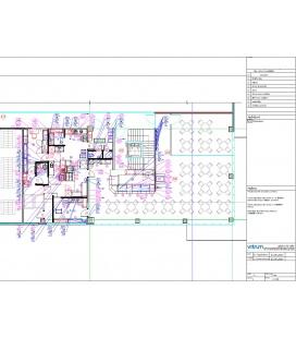Кухонный блок со складскими помещениями для cтоловой