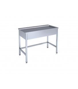 Iekraušanas un izkraušanas galds trauku mazgāšanas iekārtai