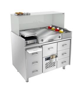 Hot Dog stations